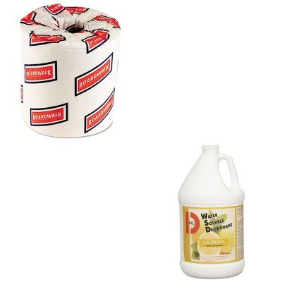 KITBGD1618BWK6180 - Value Kit - Water Soluble Deodorant, Lemon Fragrance, Gallon, 4 Bottles/Carton (BGD1618) and White 2-Ply Toilet Tissue, 4.5quot; x 3quot; Sheet Size (BWK6180)