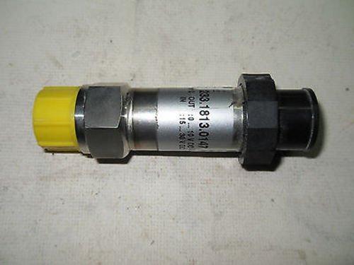 1 New Dieffenbacher 233.1813.0147.10.D Analog Transmitter (B1)