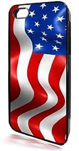meilinF000American Flag Black I-Phone 5 & 5c Case from Redeye LaserworksmeilinF000