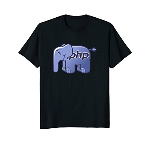PHP Language Official ElePHPant Mascot Logo T-Shirt