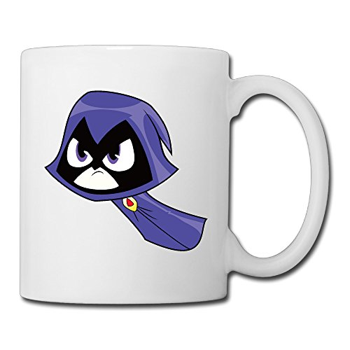 Cool Teen Titans Go! Ceramic Coffee Mug, Tea Cup | Best Gift For Men, Women And Kids - 13.5 Oz, (Best Female Superhero)