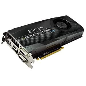 Evga NVIDIA GeForce GTX 660TI FTW - Tarjeta gráfica (PCI-e, memoria GDDR5 de 2 GB, DVI, 1 GPU)