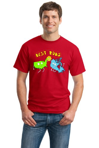 USA & CANADA = BEST BUDS! Unisex T-shirt / American Canadian Friendship Tee