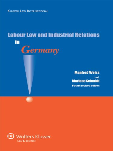 Wage-earners Law and Industrial Relations in Germany, Fourth Revised Edition