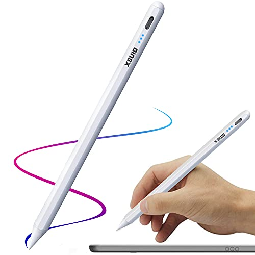 Stylus Pen for Apple iPad with Palm Rejection,Tilt,No Lag,Magnetic,iPad Pencil Compatible with 2018-2020 Apple Pencil 2 Generation for iPad 8th/7th/6th Gen,iPad Air,iPad Mini,iPad Pro (11/12.9