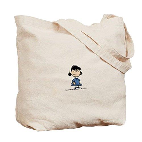 CafePress–Lucy Van Pelt–Gamuza de bolsa de lona bolsa, bolsa de la compra