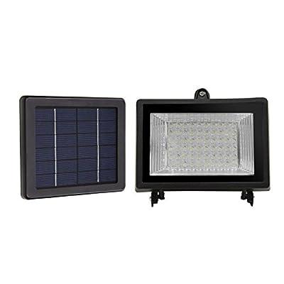 LTE 60 LED Solar Lights, Outdoor Security Floodlight, 300 Lumen, IP65 Waterproof, Auto-induction, Solar Flood Light for Lawn, Garden, Pool.