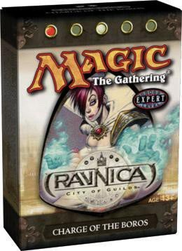 Magic the Gathering MTG Ravnica City of Guilds Charge of the Boros Theme Deck