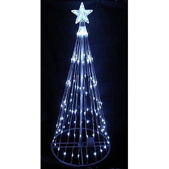 Amazon Com 6 Blue Led Light Show Cone Christmas Tree