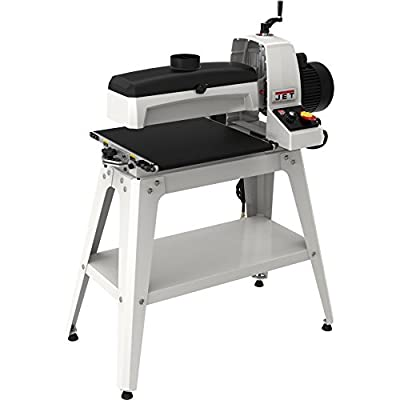 Jet 723530K JWDS-1836 Drum Sander with Stand, White