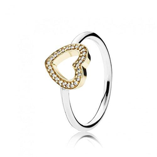 anello pandora a cuore