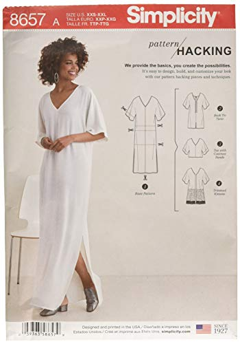 Simplicity Patterns US8657A Sportswear, A (A (XXS-XS-S-M-L-XL-XXL) ()