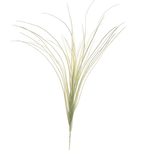 Factory Direct Craft Pair of Artificial Whispy Flocked Grass Picks for Home Decor, and Displaying