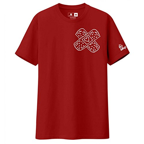 My Ex and Why's -X Band Aid Red Shirt - - Stores City Daly