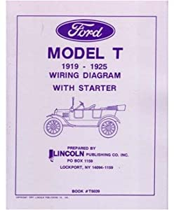 amazon com 1919 1922 1923 1924 1925 ford model t wiring diagrams 1919 1922 1923 1924 1925 ford model t wiring diagrams schematics specifications