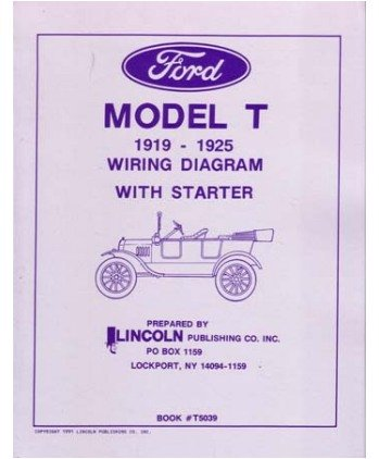 41ROC f7vLL amazon com 1919 1922 1923 1924 1925 ford model t wiring diagrams