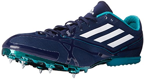 adidas Performance Adizero MD 2 Running Shoe Collegiate Navy/White/Green Rgh8l
