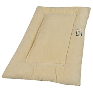 Armarkat Pet Bed Mat 27-Inch by 19-Inch by 2.5-Inch M01-Medium, Beige