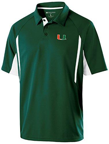 Adult Store Miami (NCAA Miami Hurricanes Adult Men Holloway Avenger Polo)