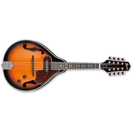 Ibanez M510E A-STYLE Acoustic-Electric Mandolin (BROWN SUNBURST) by Ibanez