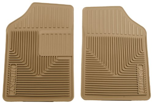 Husky Heavy Duty Floor Mats, 2pc Front Mats, Color: Tan 51053