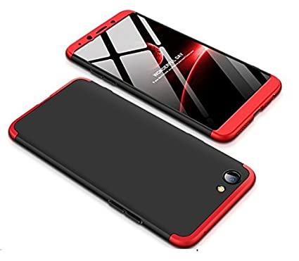 on sale d883c 95277 Vinnx Dual Tone Hard Back Cover for Vivo Y55s (Black Red)