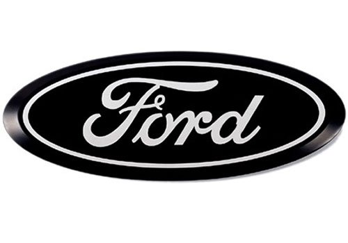Putco 92100 Black Anodized Billet Aluminum Ford Emblem Kit