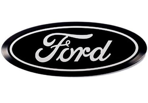 Putco 92200 Black Anodized Billet Aluminum Ford Emblem ()