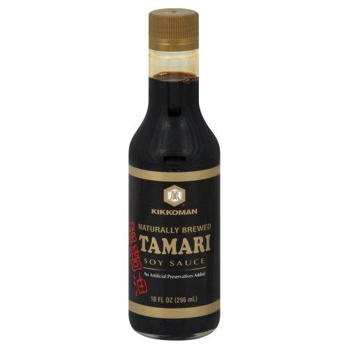 - Kikkoman Soy Sauce, Tamari, 10 Ounce (Pack of 3)