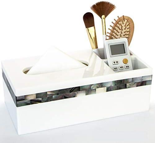 GHMOZ Tissue Box Home kreative Shell Tissue Box Europäischen einfache Wohnzimmer tablett Toilette wasserdichte Papier Box Tissue Box Cover Gesicht
