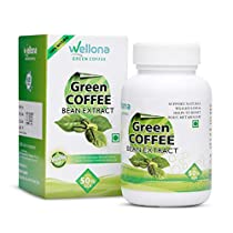 Wellona Green Coffee Beans Extract Weight Loss Pills 60 Ca