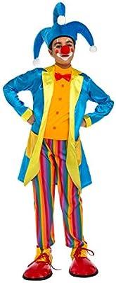 My Other Me Me-204897 Disfraz de payaso con chaqueta para niño, 7 ...