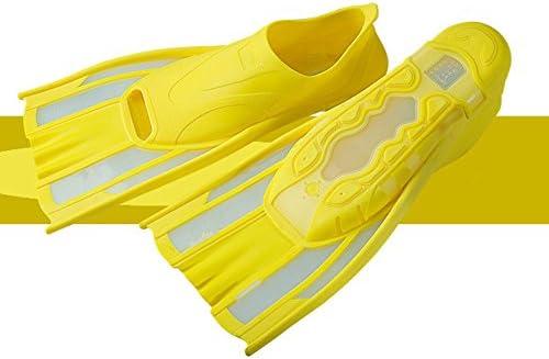 スキューバダイビングフィン 短いシュノーケルフィンスイミング用のダイビングフィンシュノーケリング水泳アクティビティスイミングレッスン (サイズ : L 41-42)