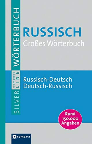 Grosses Wörterbuch Russisch (Compact SilverLine)