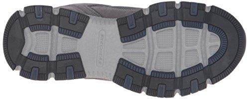Skechers ráfaga Tech–Zapatillas deportivas hombres gris/azul marino