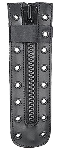 Original Swat Unisex Lace Up Durable Zippers - Convert Laces into Zippers (9 Eye Hole, Black)