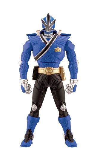 [Power Ranger 6.5 inch Morphin Figure Blue Ranger with Action] (Mega Morph Suits)