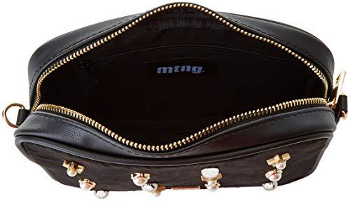 x cm W tracolla Negro a 5 Collection Nero L Donna PERLA 50x16x21 MTNG Antelina Borse H OPp1Iq7