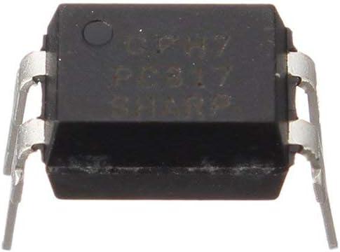 Yogatada 50 PZ Pc817 Optoaccoppiatore Sharp Isolator Optical Optocoupler File Dip-4