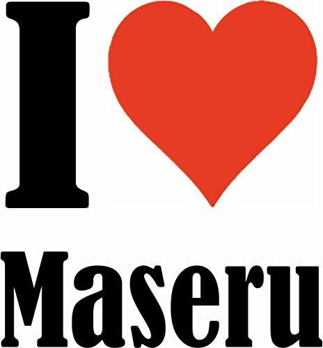 """Handyhülle iPhone 4 / 4S """"I Love Maseru"""" Hardcase Schutzhülle Handycover Smart Cover für Apple iPhone … in Weiß … Schlank und schön, das ist unser HardCase. Das Case wird mit einem Klick auf deinem Sm"""