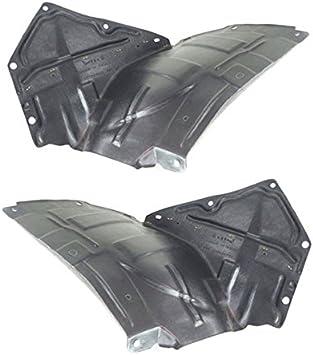 MAZDA OEM Front Fender-Liner Splash Shield Panel Cover Left NE515614ZC