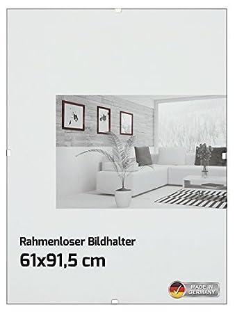 Amazon De Rahmenloser Bildhalter Bilderrahmen Fur Maxi Poster