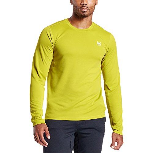 Mission Men's VaporActive Alpha Long Sleeve Athletic Shirt, Citronelle, Medium