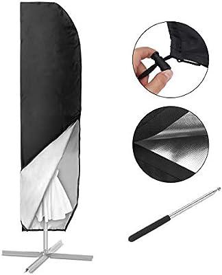 a Sbalzo Parasole Copertura di protezione 2 COPERTURA protettiva parasole gemitto con Rod