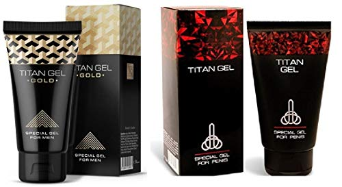 Original Russian Titan Gel Red + Titan Gel Gold Combo for Men (1)