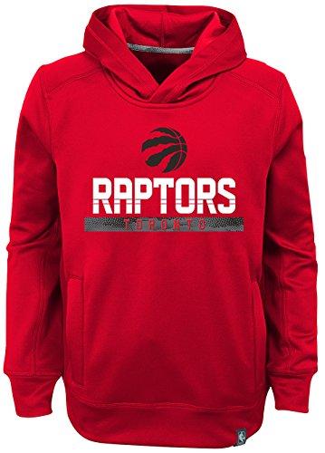 "NBA Kids & Youth Boys ""Playmaker"" Pullover Hoodie Toronto Raptors-Red-S(4)"