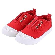 Bumud Kids Toddler Slip-on Antiskid Canvas Sneaker Boys Girls Casual Shoes