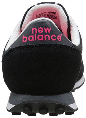 New Balance 410 Damen Sneaker Schwarz, Black/Pink, *