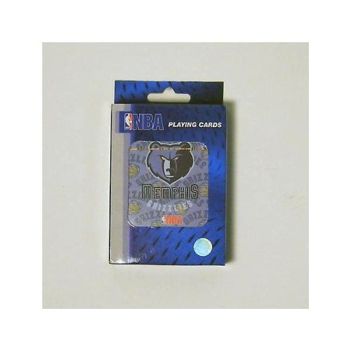 Memphis Grizzlies NBA Basketball Playing Cards - Great for Poker