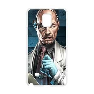 Samsung Galaxy Note 4 Cell Phone Case White Command Conquer Custom DSAMKAVDH3381